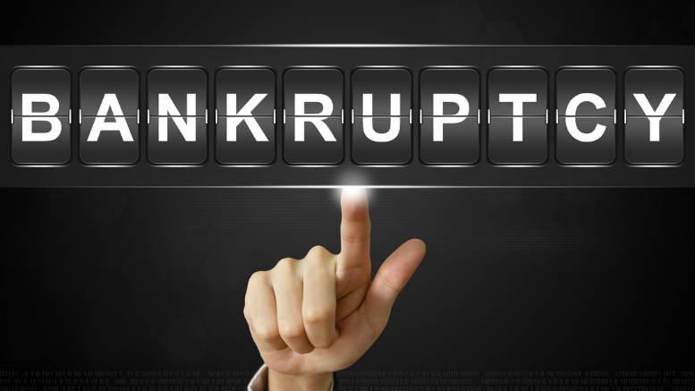 bankruptcy notice served and sent back
